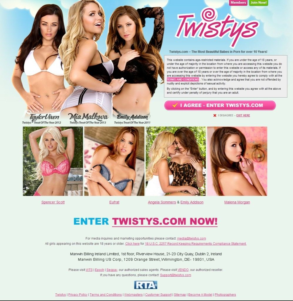 twistys first page
